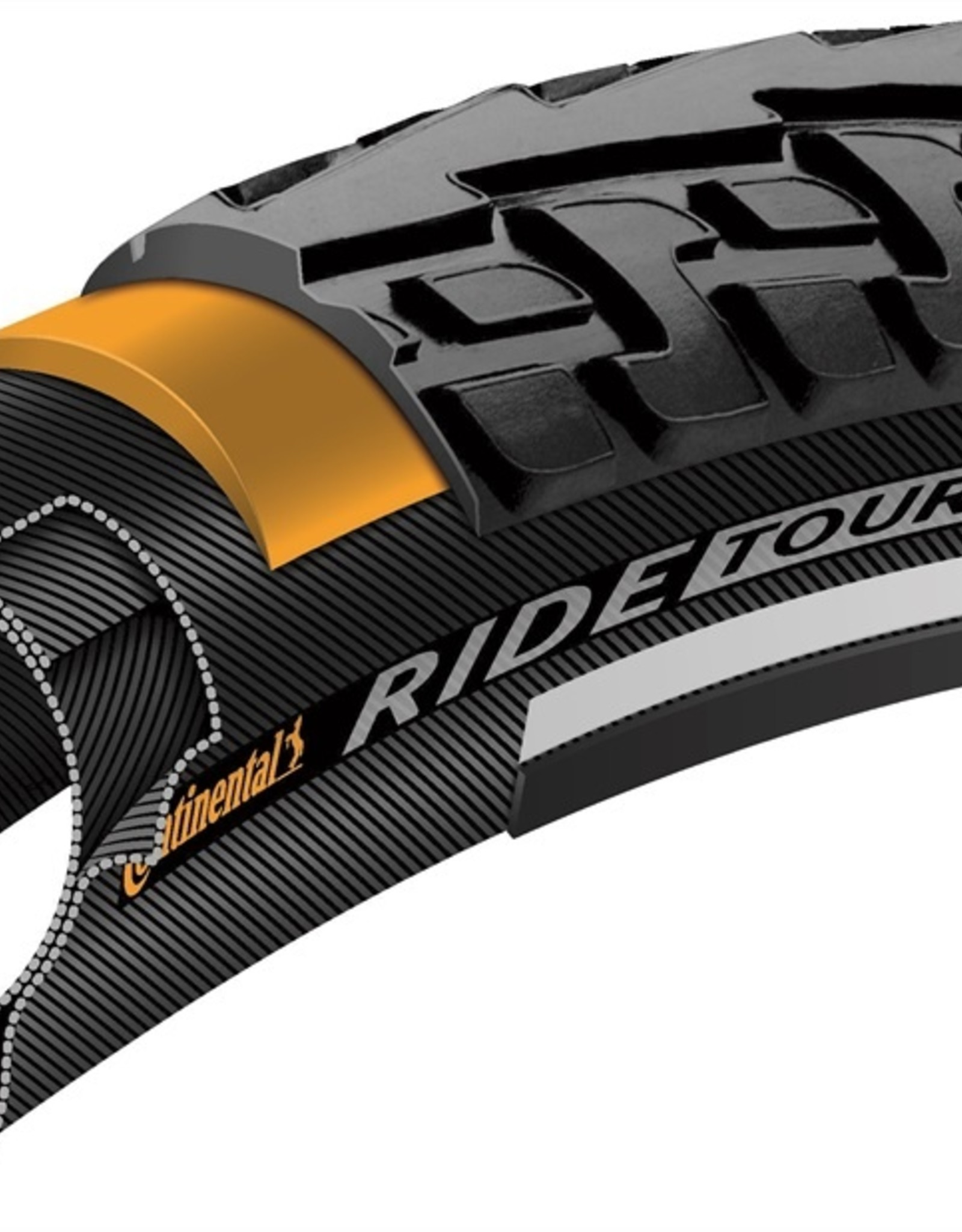 Continental Continental Ride Tour 700 X 37 BW