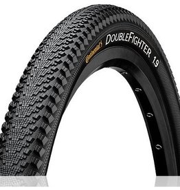 Continental Continental Double Fighter III 26 X 1.9 Rigide Noir