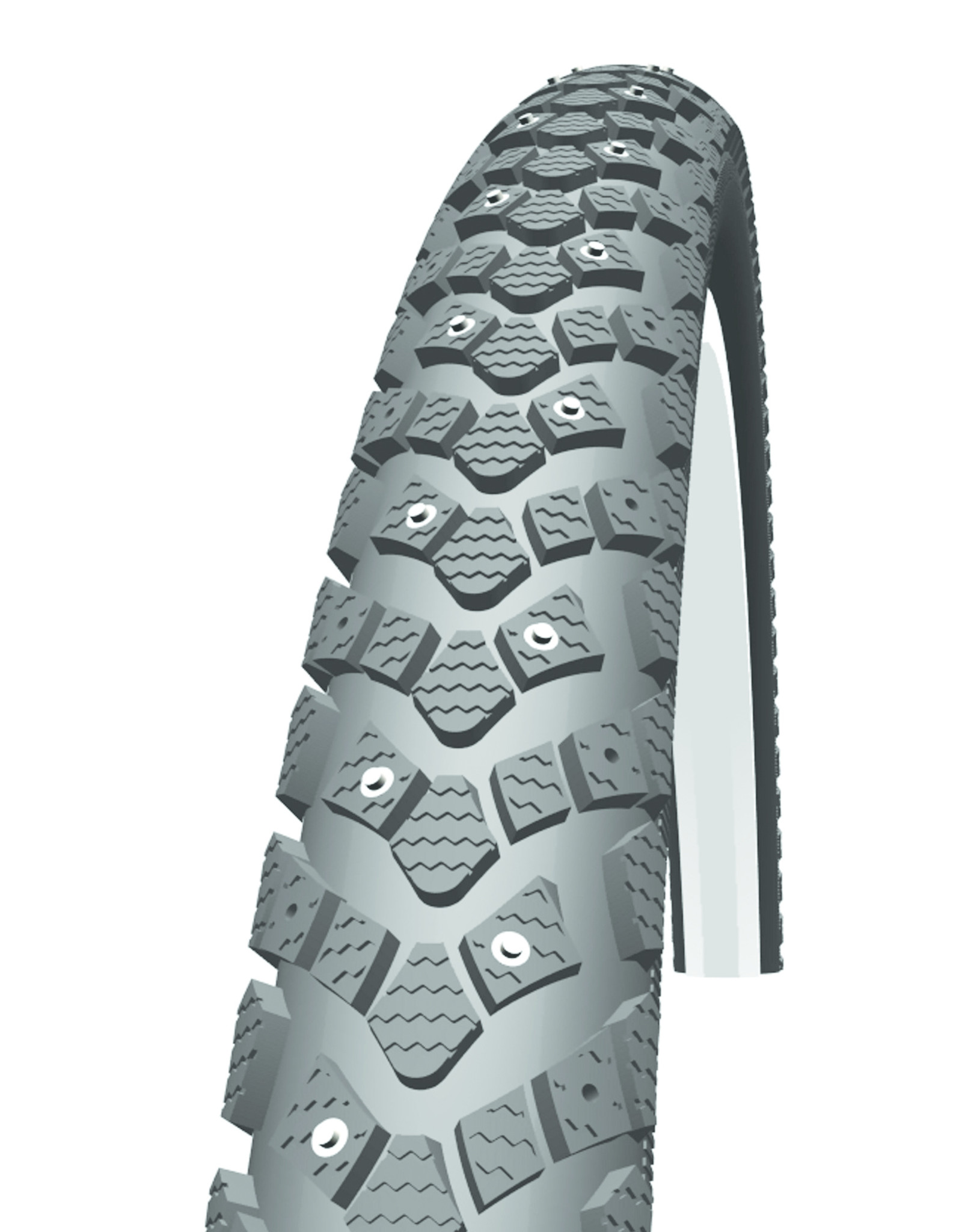 Schwalbe Schwalbe, Winter, Pneu, 700x35C, Rigide, Tringle, Winter, KevlarGuard, Reflex, 50TPI, Noir
