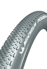 Michelin Michelin, Power Gravel, Tire, 700x40C, Folding, Tubeless Ready, X-Miles, Bead2Bead Protek, 3x120TPI, Black