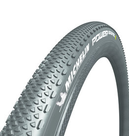 Michelin Michelin, Power Gravel, Tire, 700x40C, Folding, Tubeless Ready, X-Miles, Bead2Bead Protek, 3x120TPI, Black