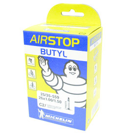 Michelin Michelin, Airstop Butyl, Tube, Presta, 52mm, 700x18-25C