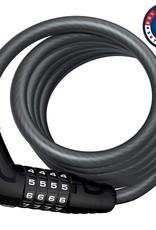 Abus Abus, Numero 5510C, Câble avec serrure à combinaison à 4 chiffres, 10mm x 180cm (12mm x 5.9')