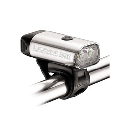 Lezyne Lezyne, Micro Drive 500XL, Lumière, Avant, Argent