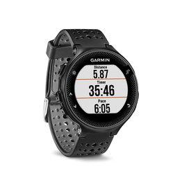 Garmin Garmin, Forerunner 235, Montre, Couleur de la montre: Noir, Bracelet: Noir - Silicone, 010-03717-54