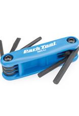Park Tool Park Tool, AWS-9.2, Tournevis et clés hexagonales repliables, 4mm, 5mm, 6mm, plat et T25