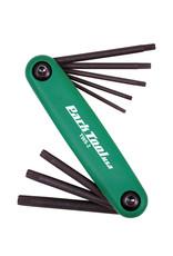 Park Tool Park Tool, TWS-2, Clés Torx repliables, T7, T9, T10, T15, T20, T25, T27, T30 et T40