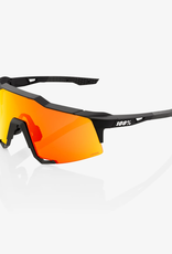 100 Percent LUNETTES 100% SpeedCraft Tall, Soft Tact Black frame - HiPER Red Multilayer Mirror Lens