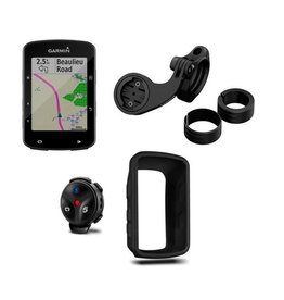 Garmin Garmin, Edge 520 Plus Bundle VTT, Cyclomètre, GPS: Oui, Cardio: Optionnel, Cadence: Optionnel, Noir, 010-02083-02