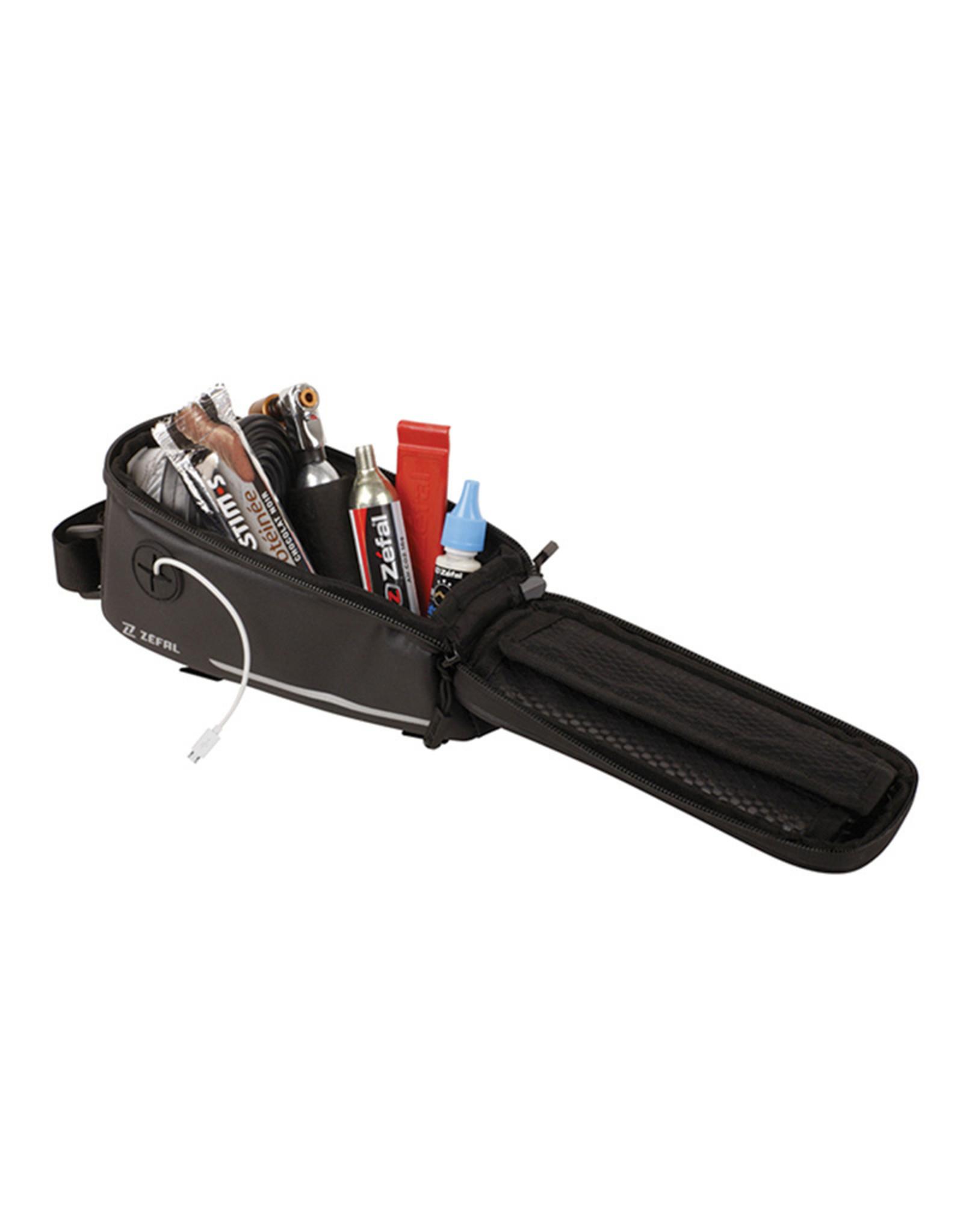 Zefal, Z Console Pack T2, Sac de tube supérieur, 1.3L, Noir