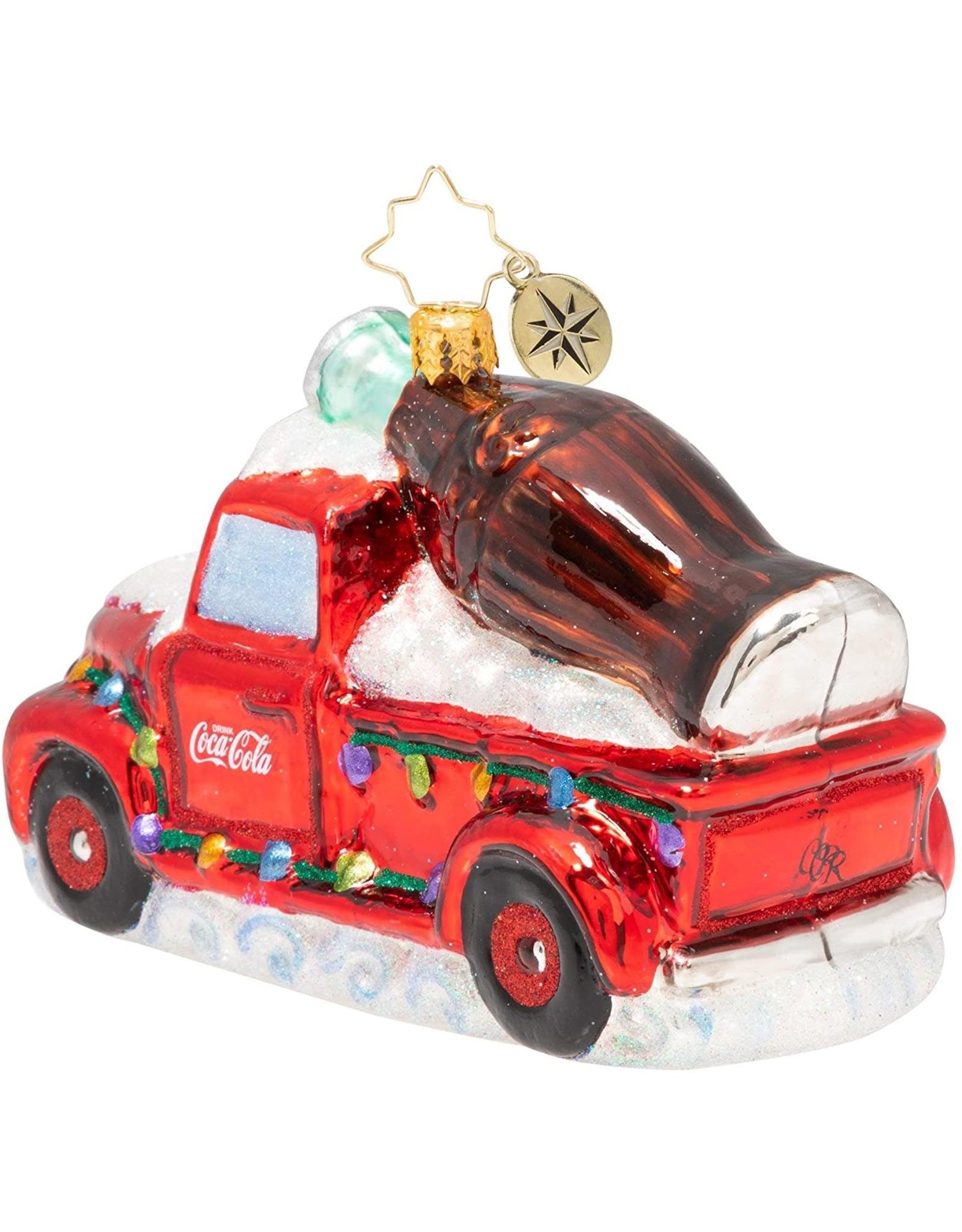 Christopher Radko A Coca-Cola Celebration Ornament