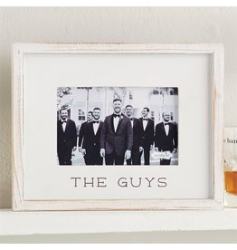 Mud Pie The Guys Photo Frame For 4x6 Photo