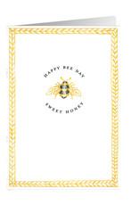 Caspari Birthday Card Happy Bee Day