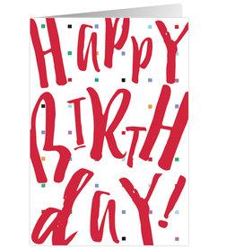 Caspari Birthday Card Happy Birthday Wishes