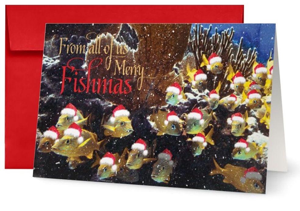 By The Seas-N Greetings Christmas Card