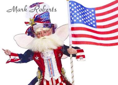 Mark Roberts Patriotic Fairies & Elves