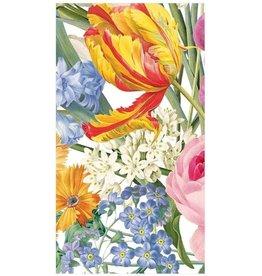 Caspari Paper Guest Towel Napkins 15pk Spring Redoute Floral Butterfly