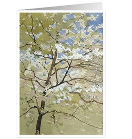 Caspari Sympathy Card Spring Blossoms