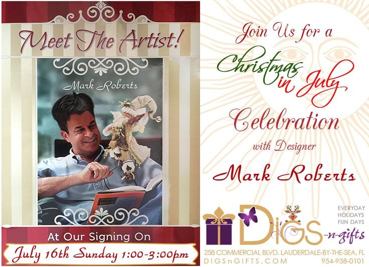 Mark Roberts Signing Event | Digs N Gifts