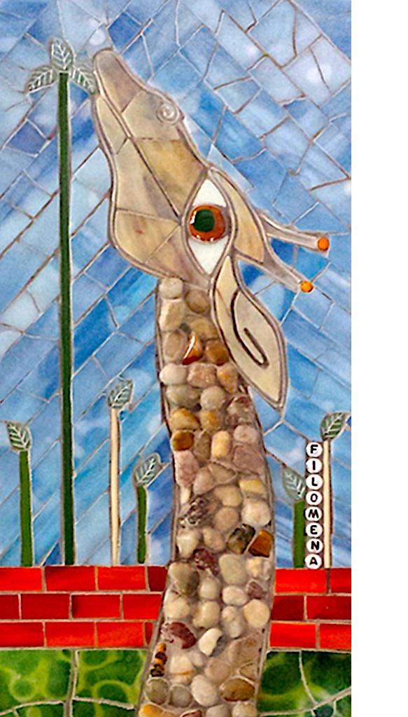 Glistening Glass Mosaic Art by Susan Nana Casbarro