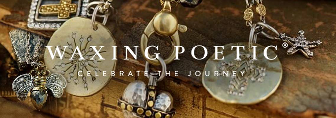 Waxing Poetic Jewelry Celebrate the Journey Now at Digs N Gifts Stores