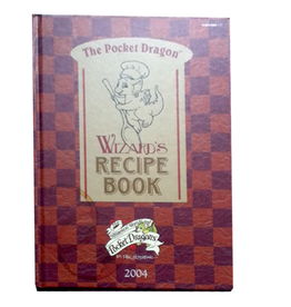 The Pocket Dragon Wizard's Recipe Book Hard Cover