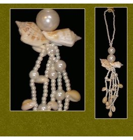 Mark Roberts Christmas Decorations Sea Shell Tassel Ornament