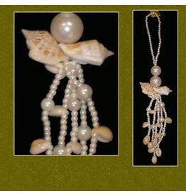Sea Shell Tassel Ornament