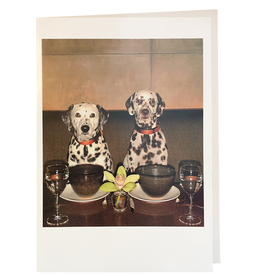 Palm Press Valentine's Day Card Dalmation Puppy Love