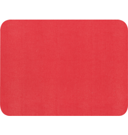 Caspari Placemats Felt Backed Faux Lizard Skin Red Placemat