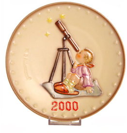 Star Gazer 2000 Millennium Plate 151563 M I Hummel