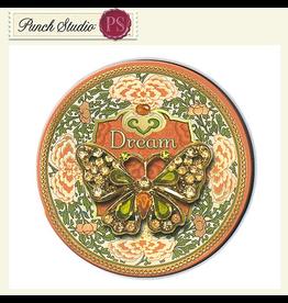 Punch Studio Decorative Brooch Magnet w Gem  Embellishments