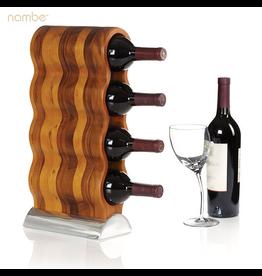 Nambe Curvo Wine Rack MT0667 Nambe Serveware