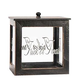 K&K Interiors Halloween Decorative Box W Trick Or Treat 7x9 Inch