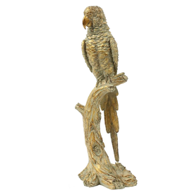 Mark Roberts Home Decor Decorative Parrot on Branch Table Piece-B- 18 inch