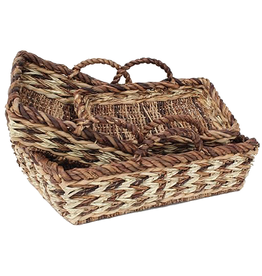 Gallerie II Rustic Woven Tray Small -A
