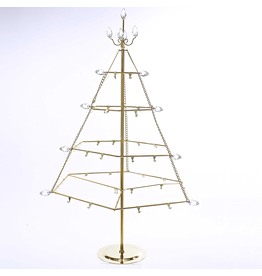 Kurt Adler Ornament Tree Ornament Hanger Gold Metal Table Ornament Tree 25 Inch