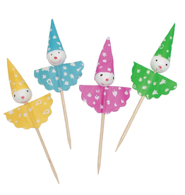 Party Picks 24Pk Food Drink Picks Clowns by Party Partners