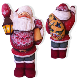 DeBrekht Artistic Studios Belly Santa Limited Edition 6 of 175
