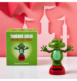 Twos Company Dancing Solar Frog Prince Wearing Crown 80816