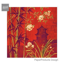 PPD Paper Product Design Bamboo Garden Cocktail Napkins 20ct