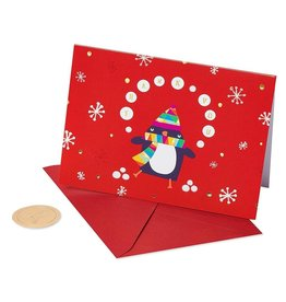 PAPYRUS® Boxed Christmas Cards 12 CT Thank You Penguin Cards