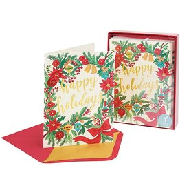 PAPYRUS® Boxed Christmas Cards 14 CT Happy Holidays