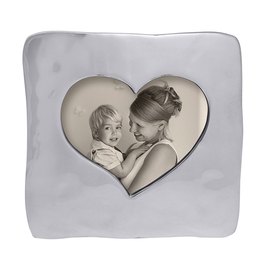 Mariposa Photo Picture Frame 1451 Large Square Open Heart
