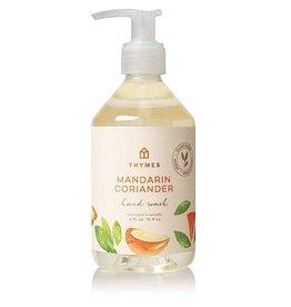 Mandarin Coriander Hand Wash 9 Oz