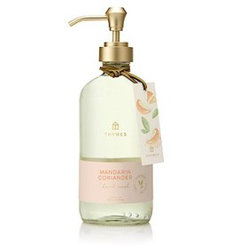 Mandarin Coriander Large Hand Wash 15 Oz Glass Bottle