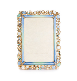Jay Strongwater Photo Frames Emery Bejeweled 4x6 Frame