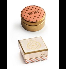 Rosanna™ Mom Porcelain Round Trinket Box | Rosanna