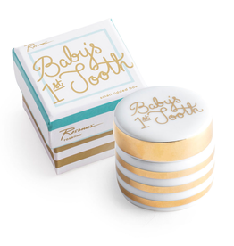 Rosanna™ New Baby Gifts Babys First Tooth Ceramic Box | Rosanna