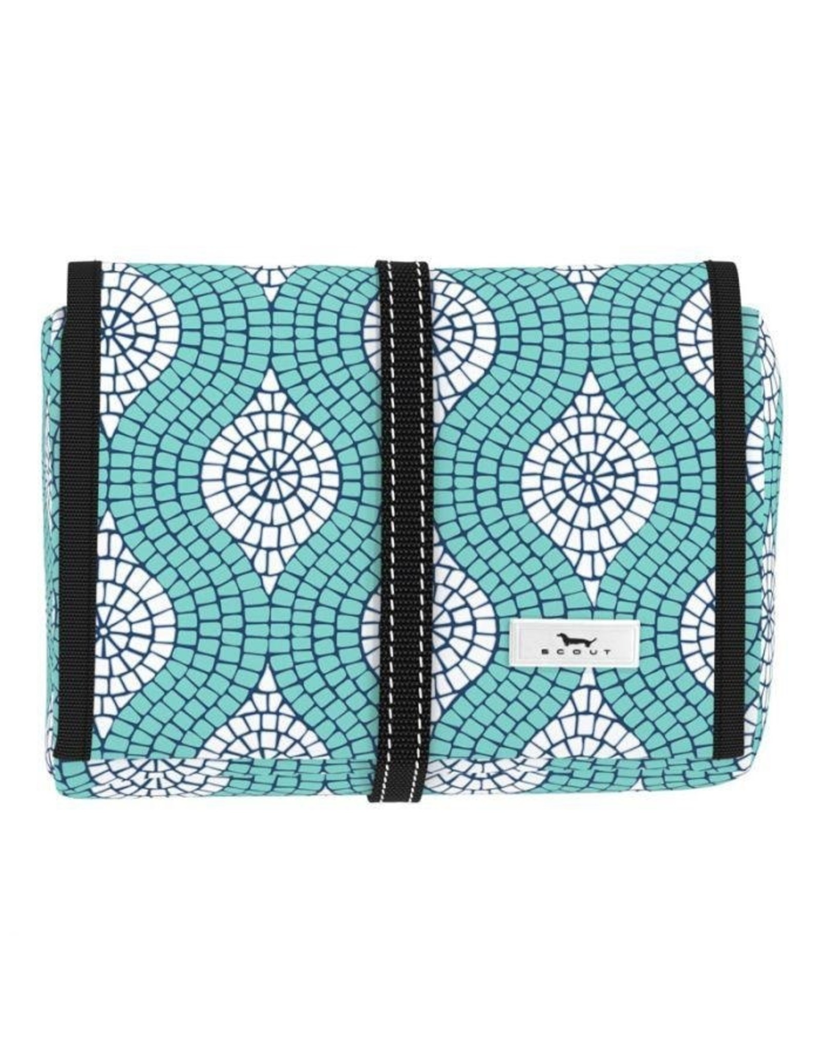 Scout Bags Beauty Burrito Hanging Toiletry Bag Mosaic Aint So